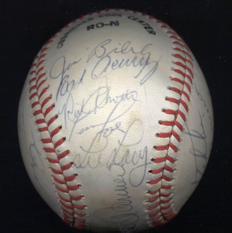 Image 4 for The Pittsburgh Pirates - Autographed Signed Baseball Circa 1980 with co-signers - HFSID 137266