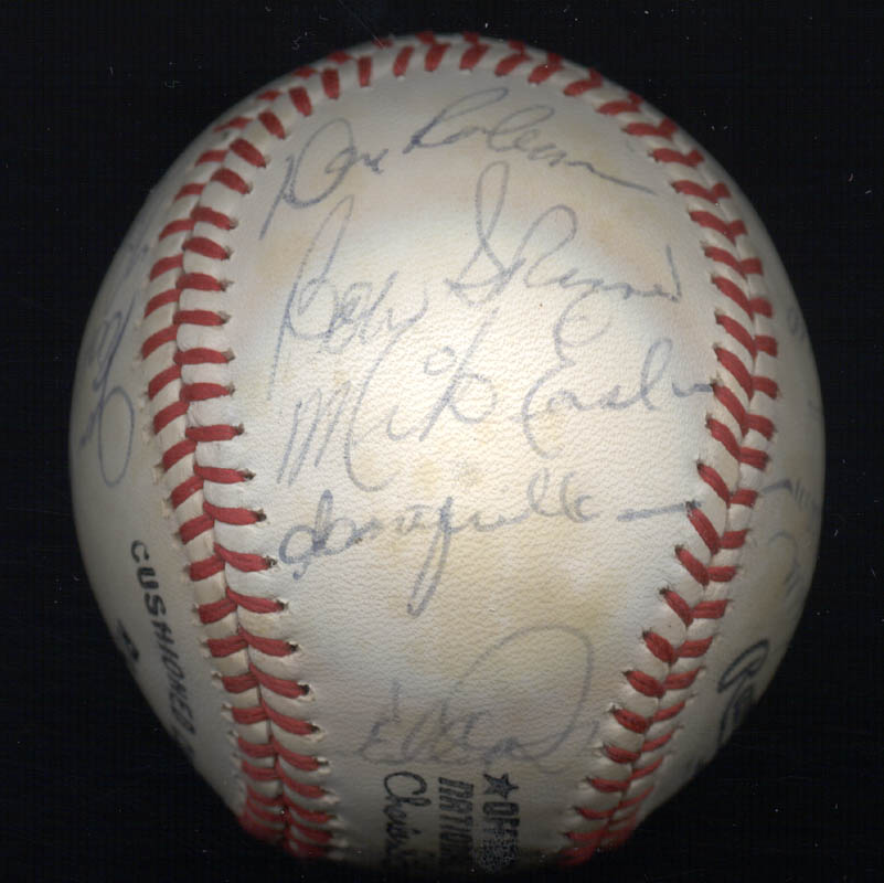 Image 5 for The Pittsburgh Pirates - Autographed Signed Baseball Circa 1980 with co-signers - HFSID 137266