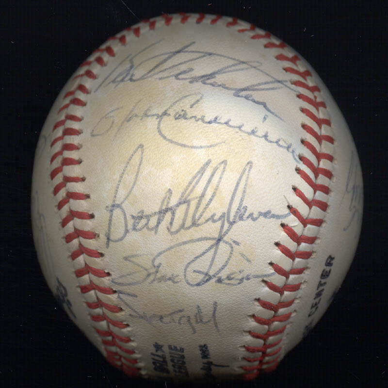 Image 6 for The Pittsburgh Pirates - Autographed Signed Baseball Circa 1980 with co-signers - HFSID 137266