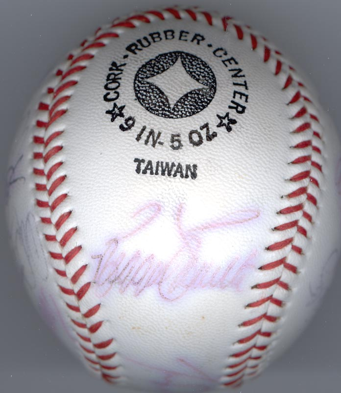 Image 4 for The Los Angeles Dodgers - Autographed Signed Baseball with co-signers - HFSID 137365
