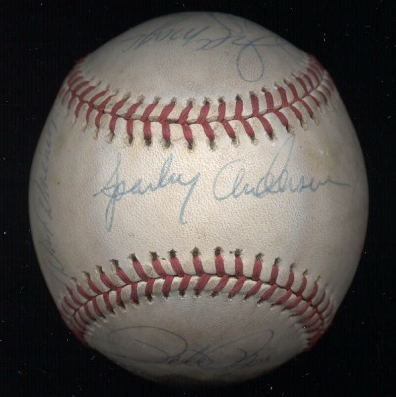 Image 1 for Cincinnati Reds - Autographed Signed Baseball with co-signers - HFSID 137382