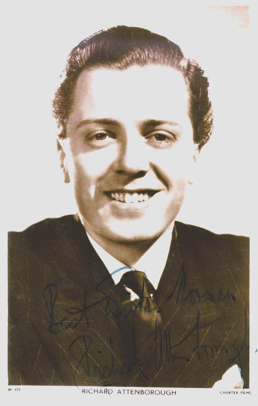 Image 1 for Sir Richard Attenborough - Inscribed Picture Postcard Signed - HFSID 137427