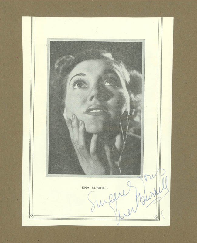 Image 3 for Margaret Rawlings - Magazine Photograph Signed co-signed by: Ena Burrill - HFSID 137491