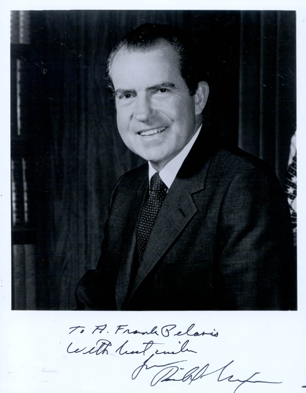 Image 1 for President Richard M. Nixon - Autographed Inscribed Photograph - HFSID 137621