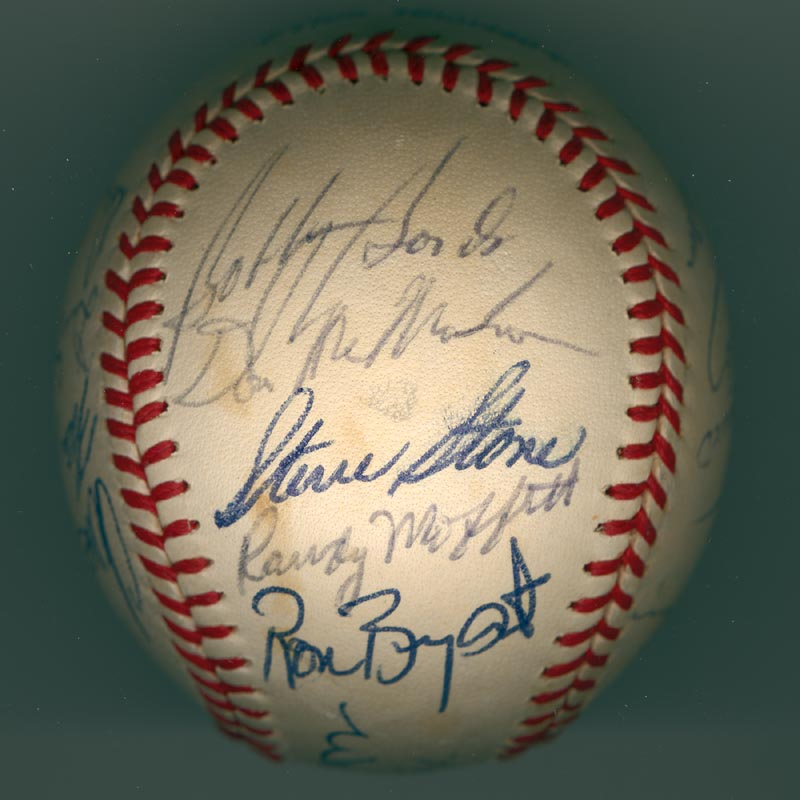 Image 5 for The San Francisco Giants - Autographed Signed Baseball Circa 1971 with co-signers - HFSID 137707