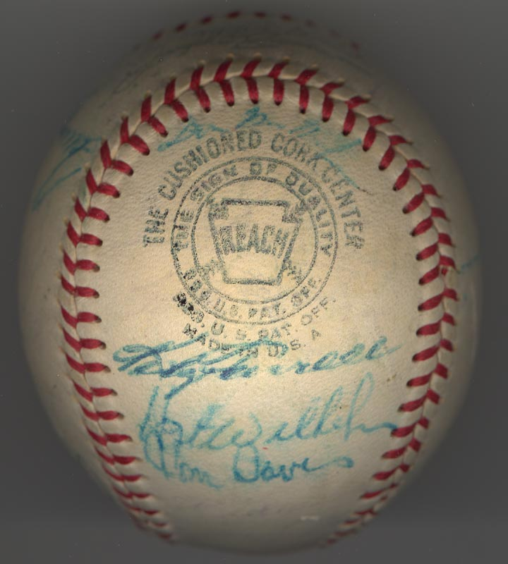 Image 3 for The Chicago White Sox - Autographed Signed Baseball Circa 1969 with co-signers - HFSID 137713