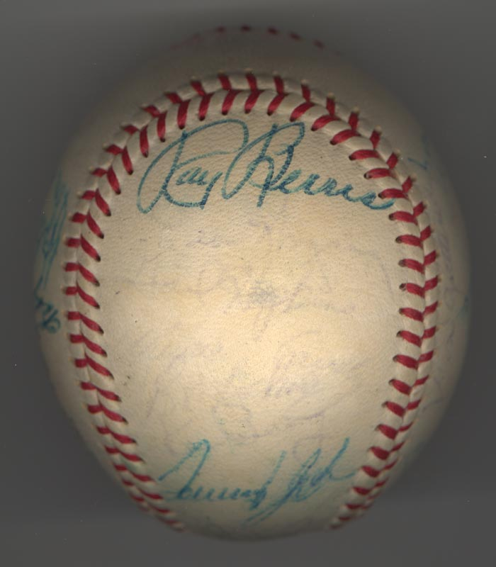 Image 4 for The Chicago White Sox - Autographed Signed Baseball Circa 1969 with co-signers - HFSID 137713