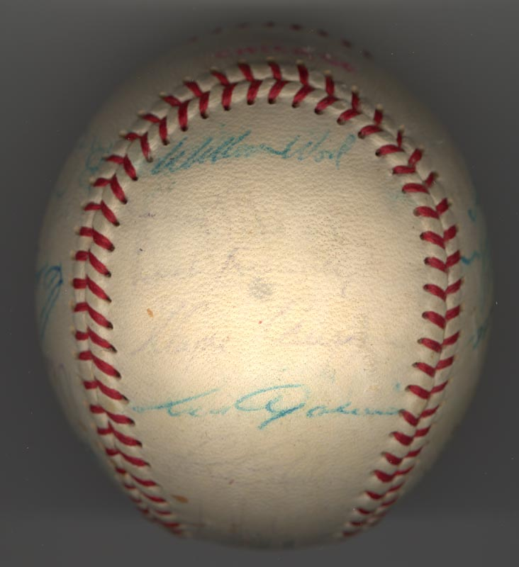 Image 5 for The Chicago White Sox - Autographed Signed Baseball Circa 1969 with co-signers - HFSID 137713