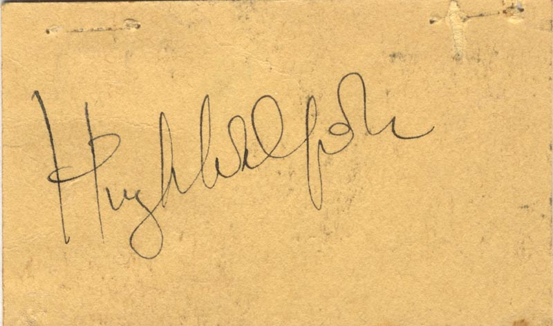 Image 1 for Sir Hugh Walpole - Autograph - HFSID 140270