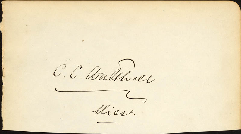 Image 1 for Major General Edward C. Walthall - Autograph - HFSID 141948