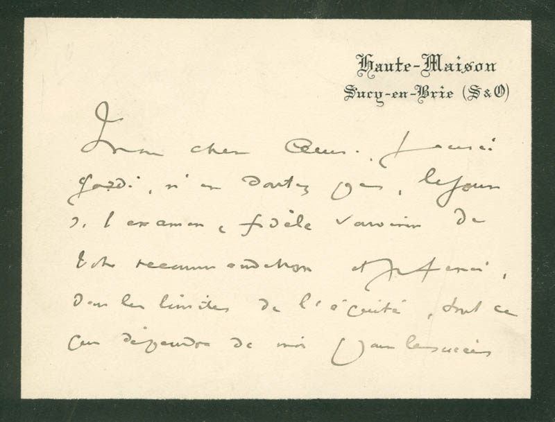 Image 3 for Ludovic Halevy - Autograph Letter Signed 11/08/1894 - HFSID 142550