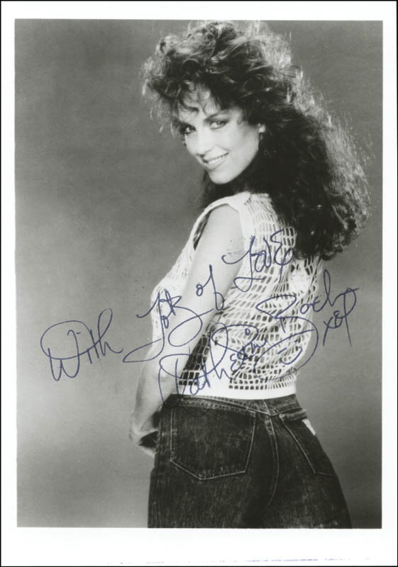 Image 1 for Catherine Bach - Autographed Signed Photograph - HFSID 142619