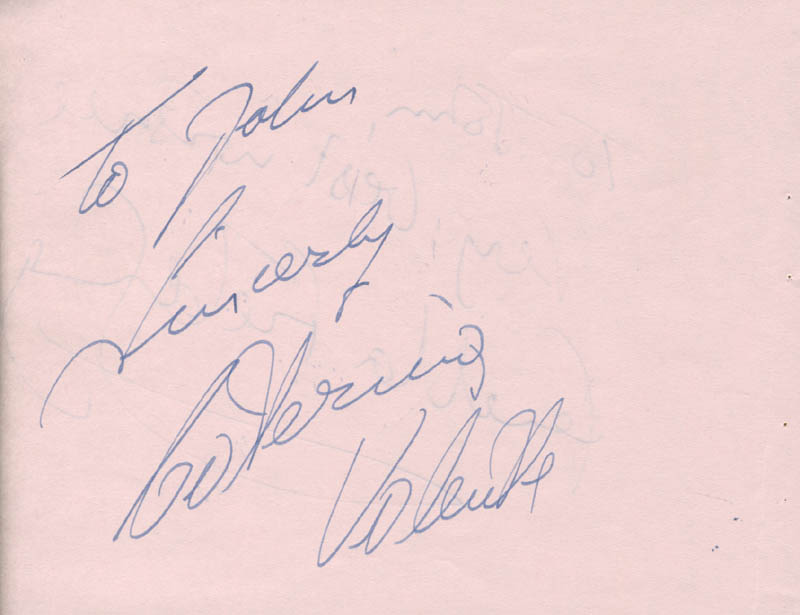 Image 3 for Fenella Fielding - Autograph Note Signed co-signed by: Caterina Valente - HFSID 142664