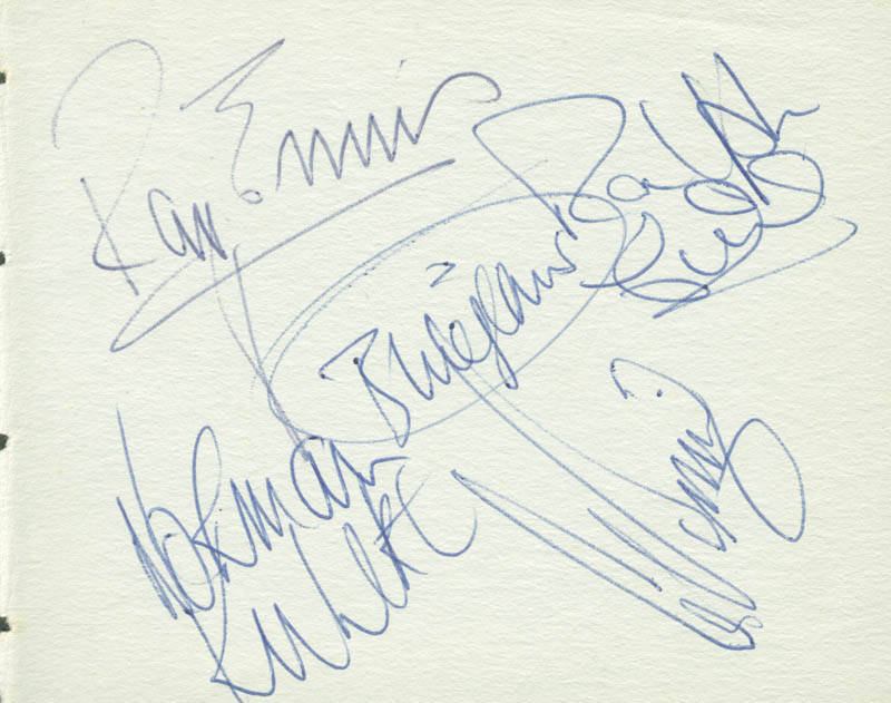 Image 1 for Swinging Blue Jeans - Autograph with co-signers - HFSID 142792
