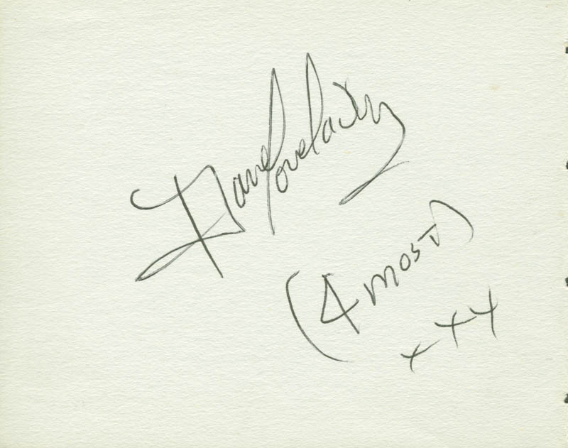 Image 3 for Swinging Blue Jeans - Autograph with co-signers - HFSID 142792