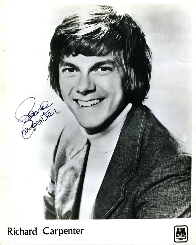 Image 1 for Richard Carpenter - Autographed Signed Photograph - HFSID 142964