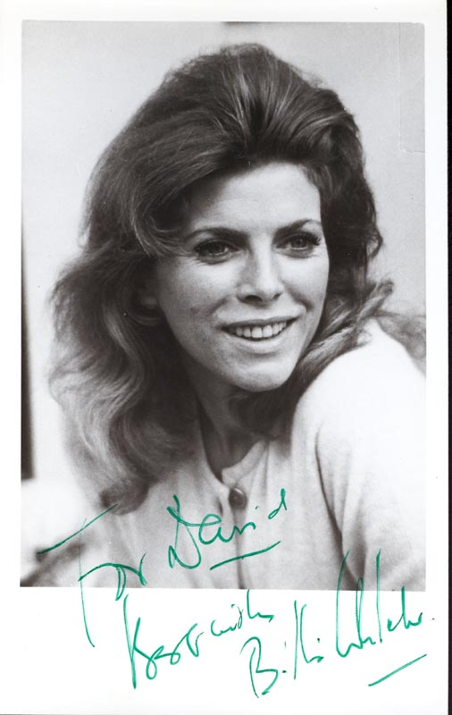 Image 1 for Billie Whitelaw - Autographed Inscribed Photograph - HFSID 143686