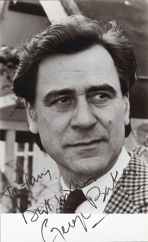 Image 1 for George Baker - Autographed Inscribed Photograph - HFSID 143705