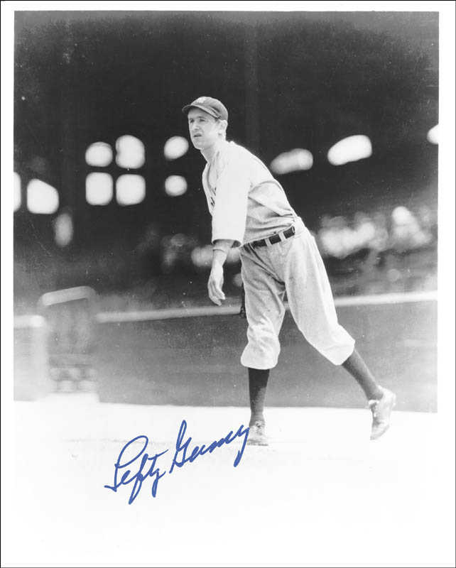 Image 1 for Lefty Gomez - Autographed Signed Photograph - HFSID 143941