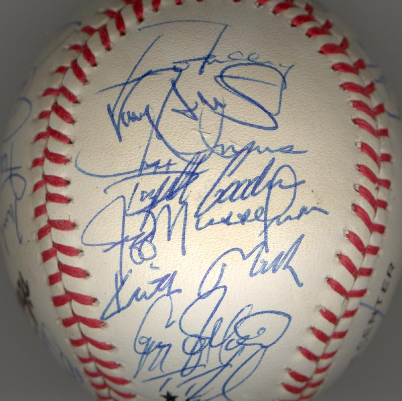 Image 5 for The New York Mets - Autographed Signed Baseball Circa 1990 with co-signers - HFSID 144086