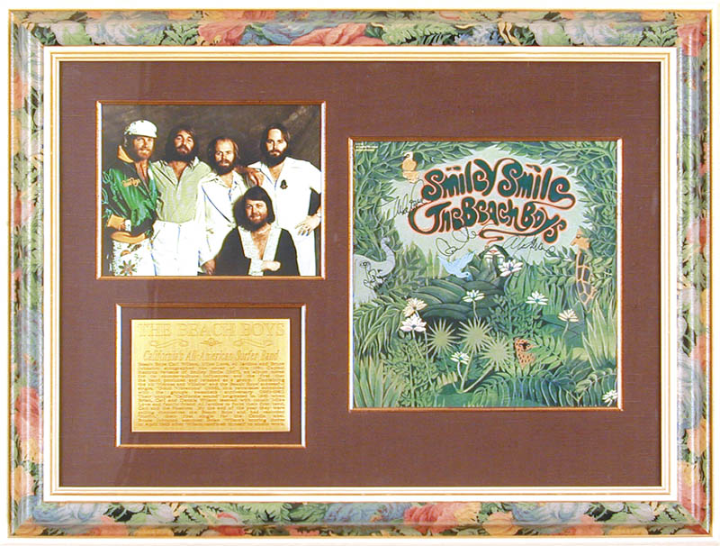 Image 1 for The Beach Boys - Record Album Cover Signed with co-signers - HFSID 144238