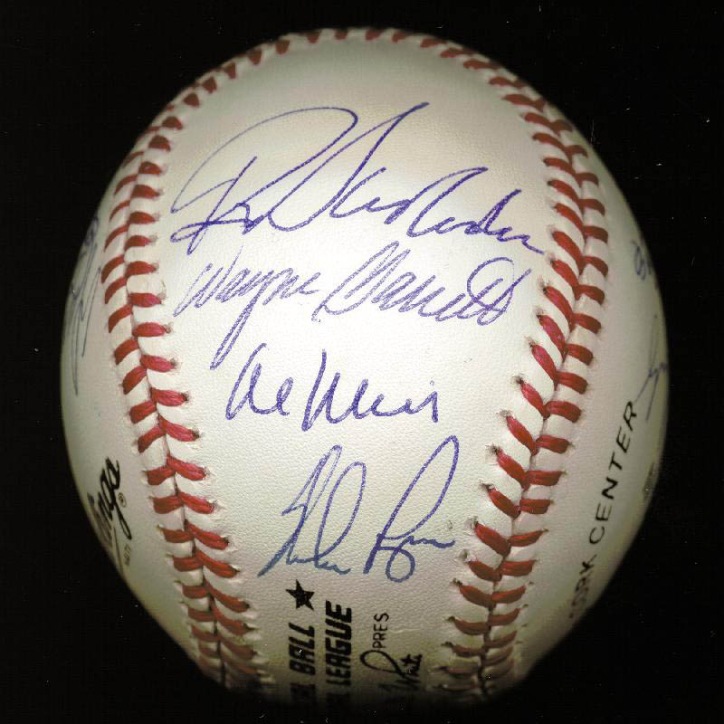 Image 1 for The 1969 New York Mets - Autographed Signed Baseball Circa 1989 with co-signers - HFSID 144785
