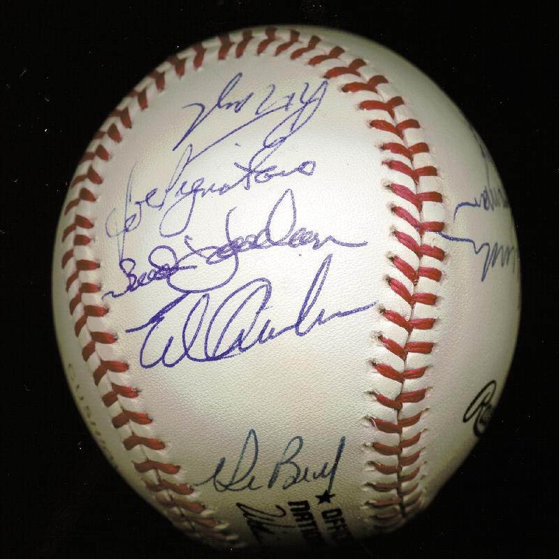 Image 3 for The 1969 New York Mets - Autographed Signed Baseball Circa 1989 with co-signers - HFSID 144785