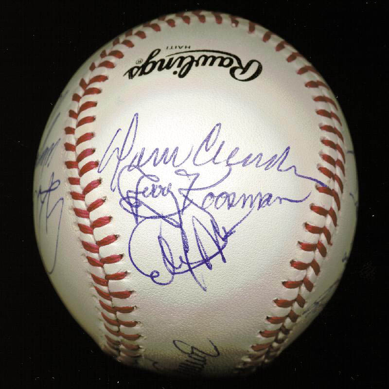 Image 4 for The 1969 New York Mets - Autographed Signed Baseball Circa 1989 with co-signers - HFSID 144785