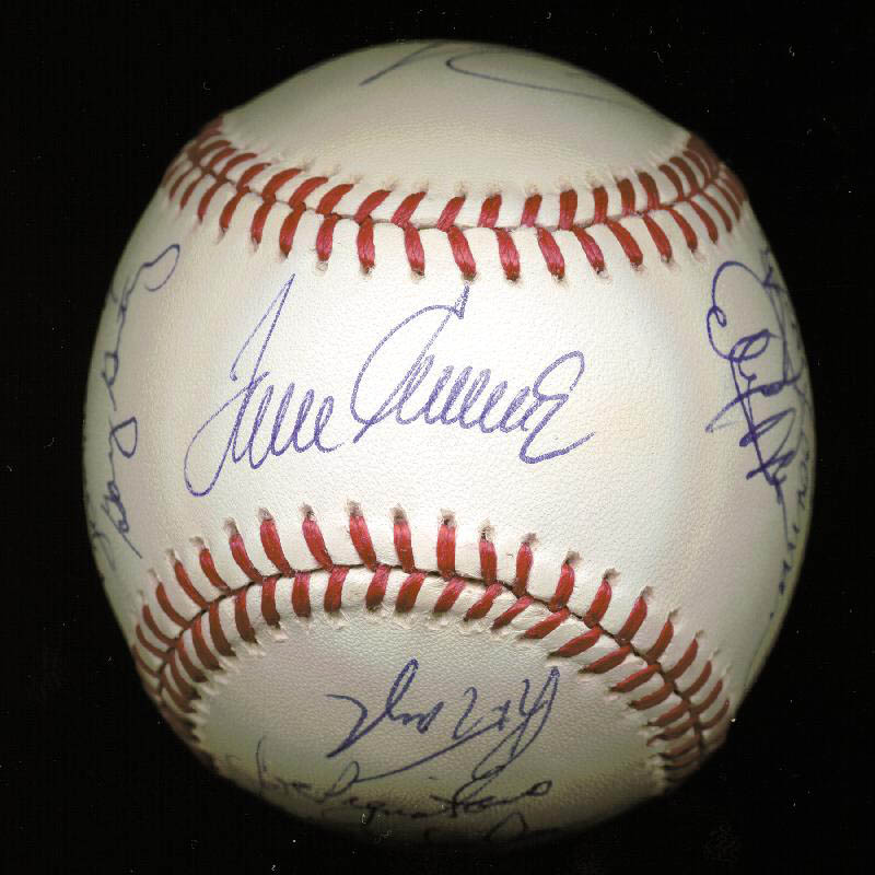 Image 5 for The 1969 New York Mets - Autographed Signed Baseball Circa 1989 with co-signers - HFSID 144785