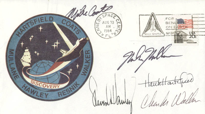 Image 1 for Captain Michael L. Coats - Commemorative Envelope Signed with co-signers - HFSID 144789