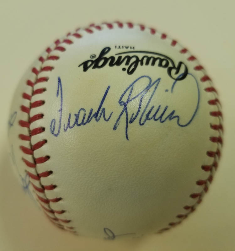 Image 3 for 500 Home Run Hitters - Autographed Signed Baseball with co-signers - HFSID 144945