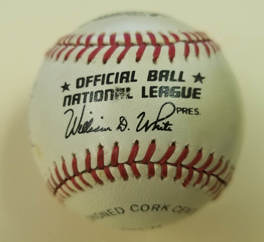 Image 7 for 500 Home Run Hitters - Autographed Signed Baseball with co-signers - HFSID 144945