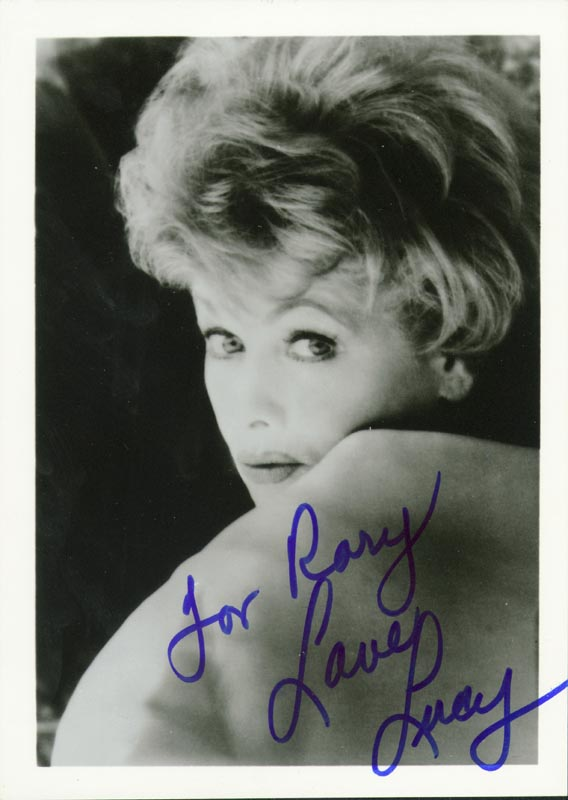 Image 1 for Lucille 'Lucy' Ball - Autographed Inscribed Photograph - HFSID 145043