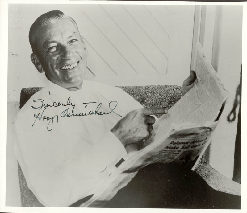 Image 1 for Hoagy Carmichael - Autographed Signed Photograph - HFSID 145075