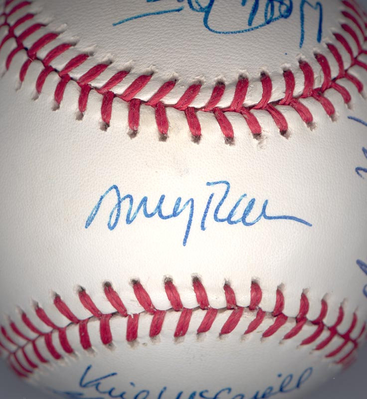 Image 1 for The California Angels - Autographed Signed Baseball Circa 1989 with co-signers - HFSID 145081