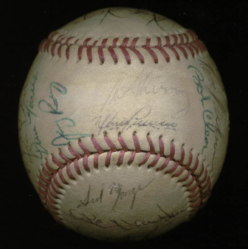Image 1 for The California Angels - Autographed Signed Baseball with co-signers - HFSID 145084