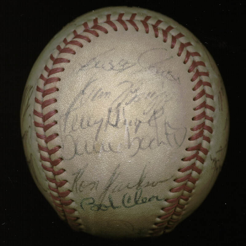 Image 4 for The California Angels - Autographed Signed Baseball with co-signers - HFSID 145084