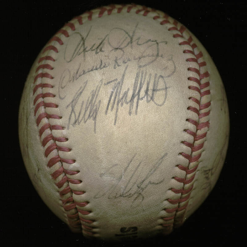 Image 5 for The California Angels - Autographed Signed Baseball with co-signers - HFSID 145084