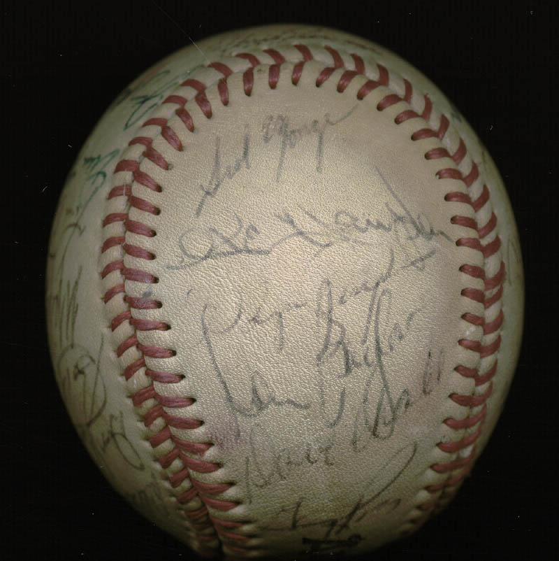 Image 6 for The California Angels - Autographed Signed Baseball with co-signers - HFSID 145084