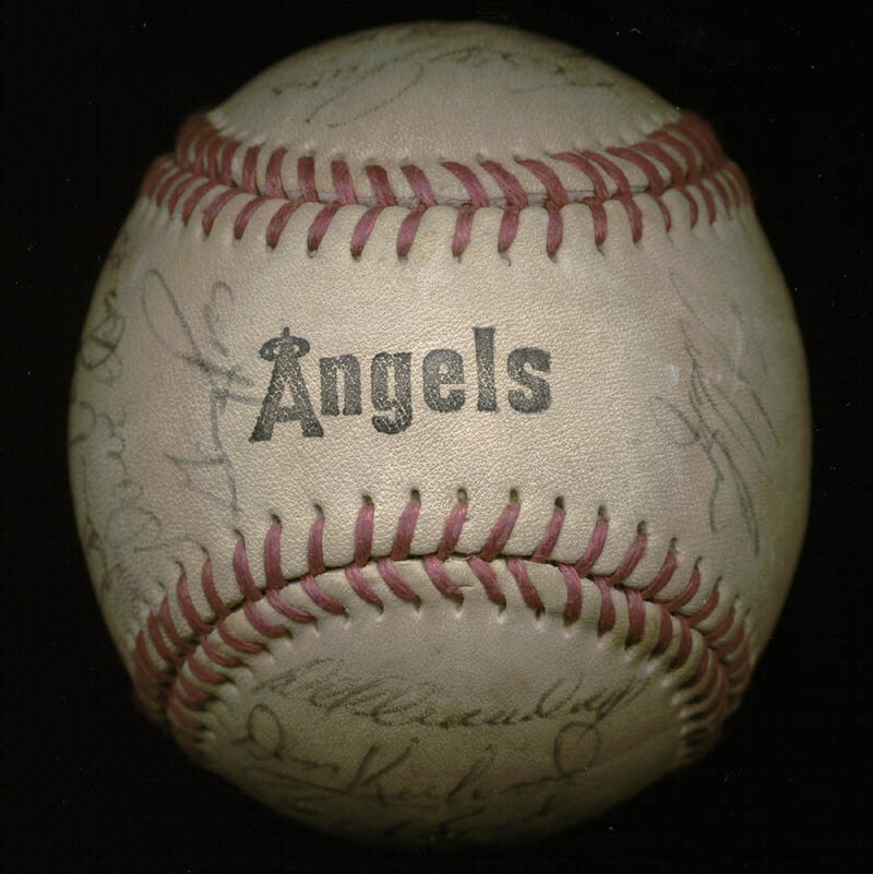 Image 7 for The California Angels - Autographed Signed Baseball with co-signers - HFSID 145084