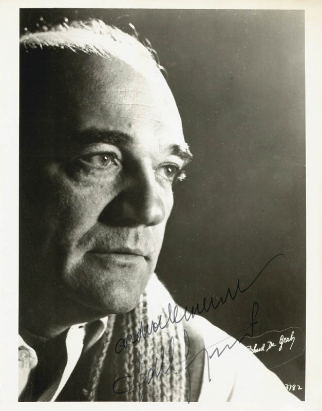 Image 1 for Gabriel Bacquier - Autographed Signed Photograph - HFSID 145403