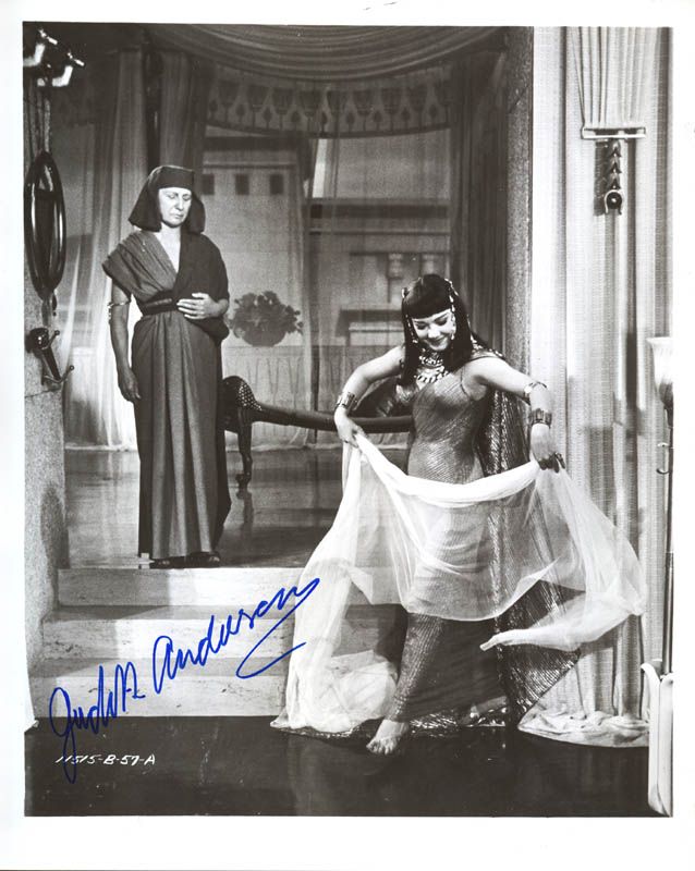 Image 1 for Dame Judith Anderson - Autographed Signed Photograph - HFSID 145440