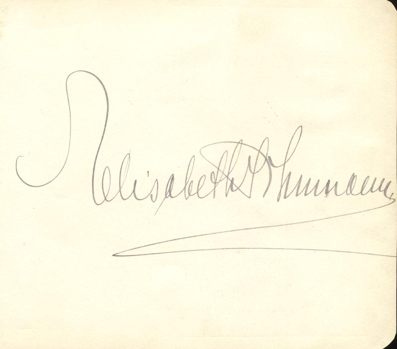 Image 3 for Paul L. Robeson - Autograph Sentiment Signed co-signed by: Elisabeth Schumann - HFSID 145470