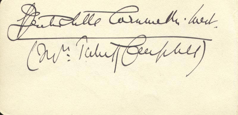 Image 3 for Fred Astaire - Autograph co-signed by: Adele Astaire - HFSID 145515