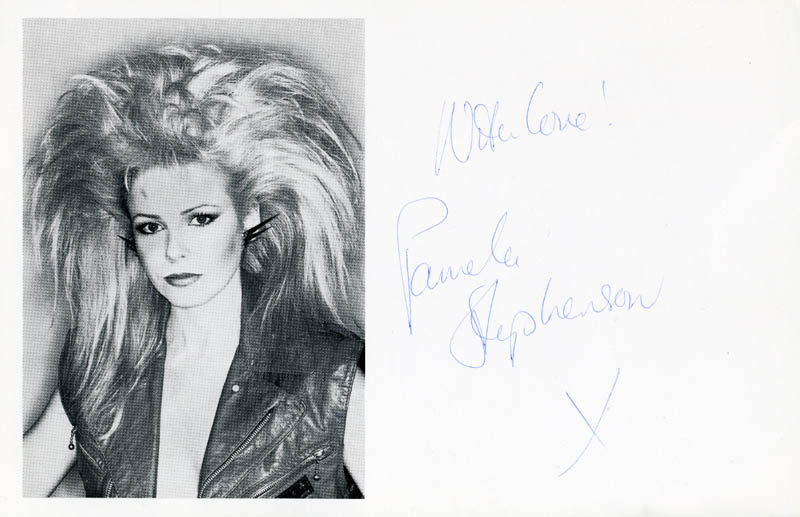 Image 1 for Pamela Stephenson - Autographed Signed Photograph - HFSID 145546