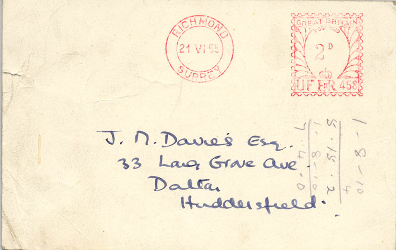 Image 3 for Richard Dimbleby - Typed Letter Signed 06/1955 - HFSID 146286