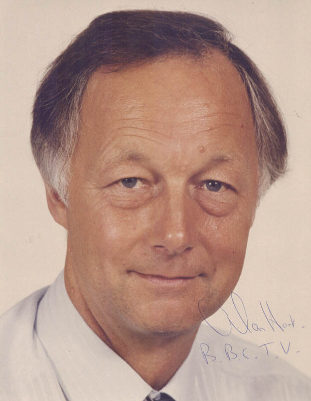 Image 1 for Alan Hart - Autographed Signed Photograph Circa 1985 - HFSID 146384