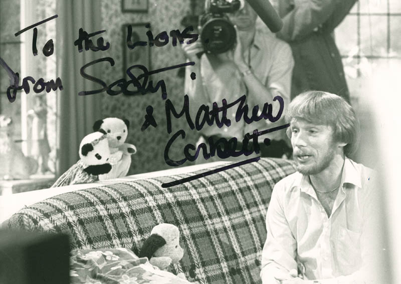 Image 1 for Matthew Corbett - Autographed Inscribed Photograph Circa 1984 - HFSID 146386