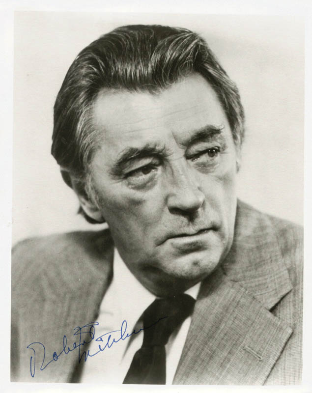 Image 1 for Robert Mitchum - Autographed Signed Photograph - HFSID 146701