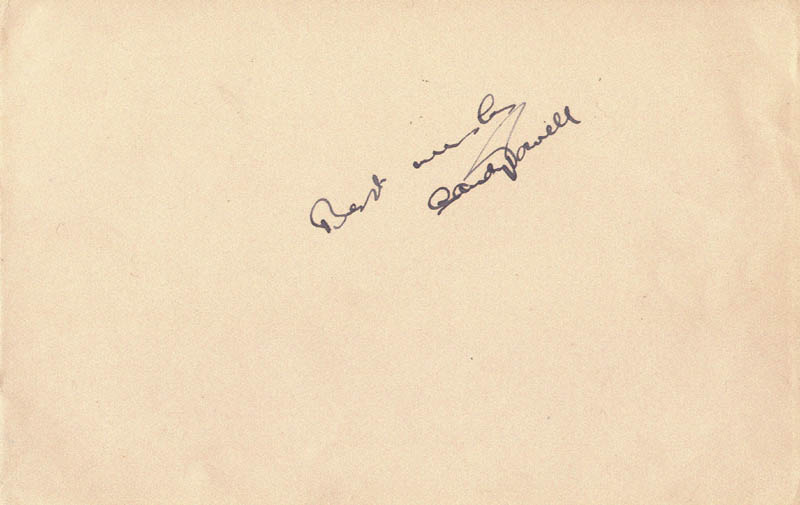 Image 1 for Sandy Powell - Autograph Sentiment Signed Circa 1936 co-signed by: Toyo - HFSID 146739